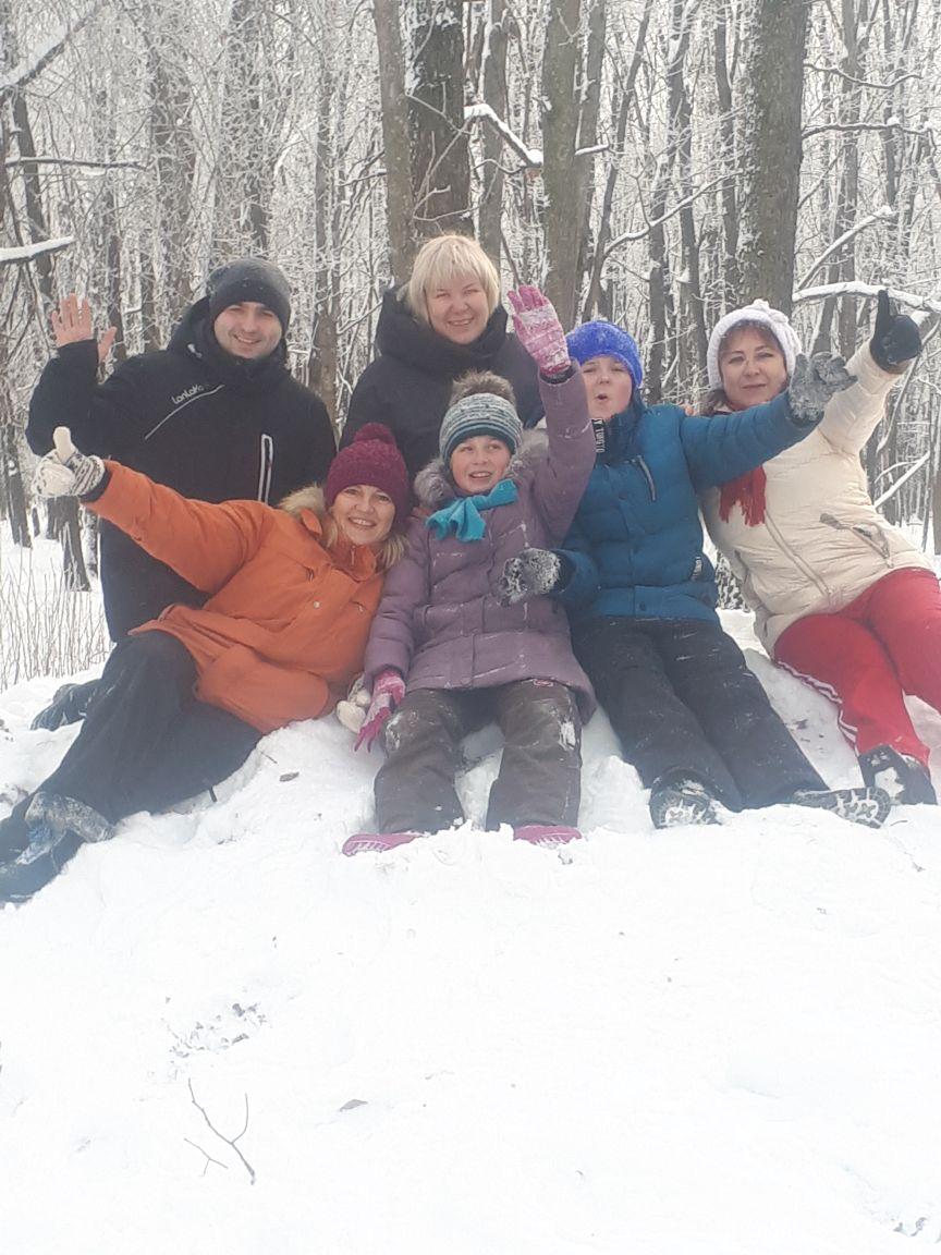 Ура, снег! Зимние радости
