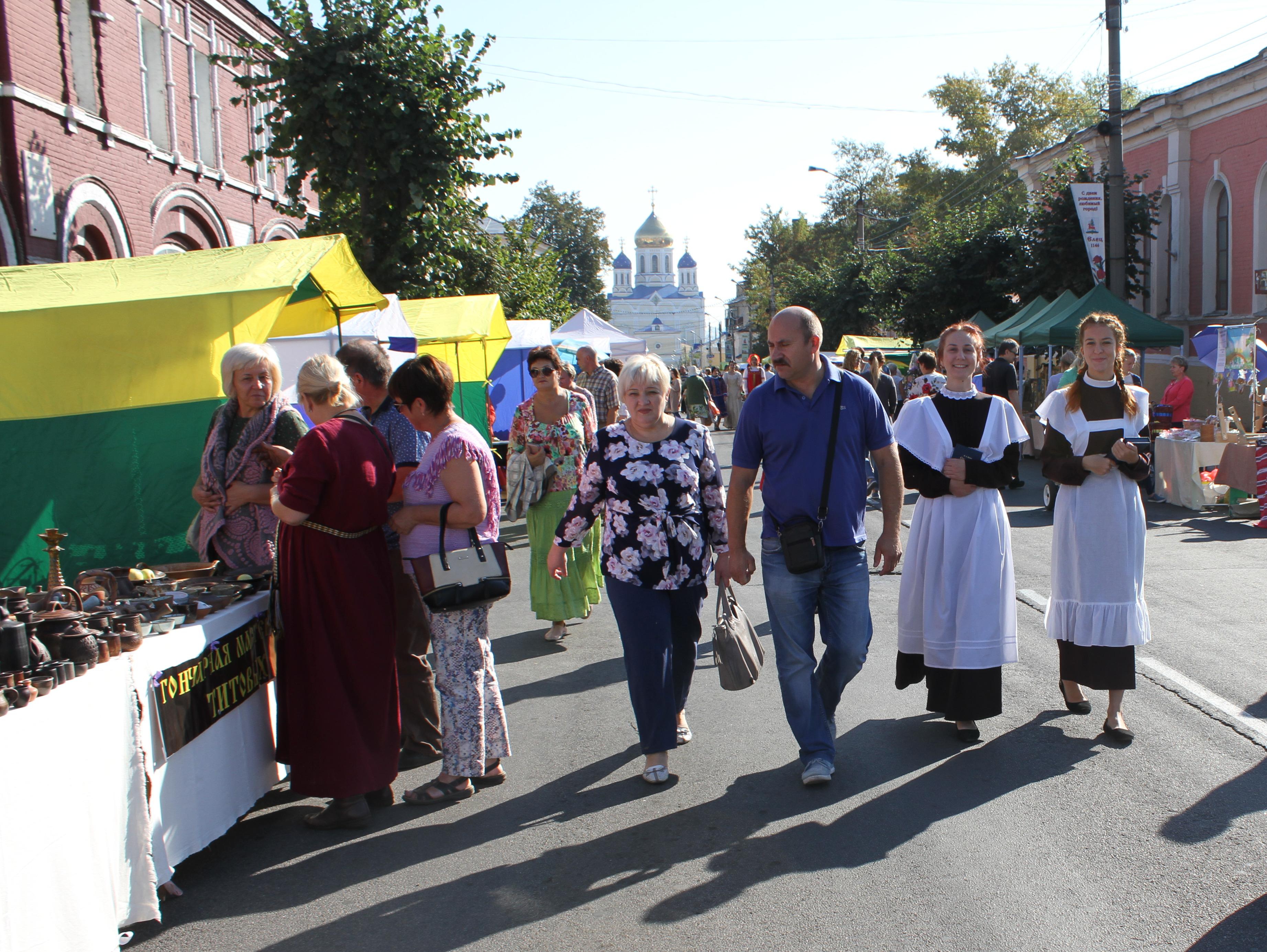 Событийный фестиваль «Антоновские яблоки»