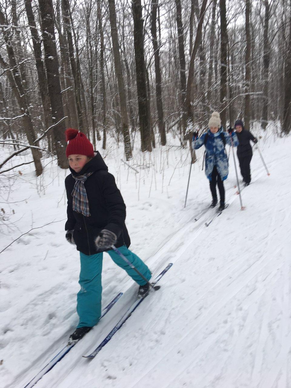 Зимние забавы с пользой для здоровья!
