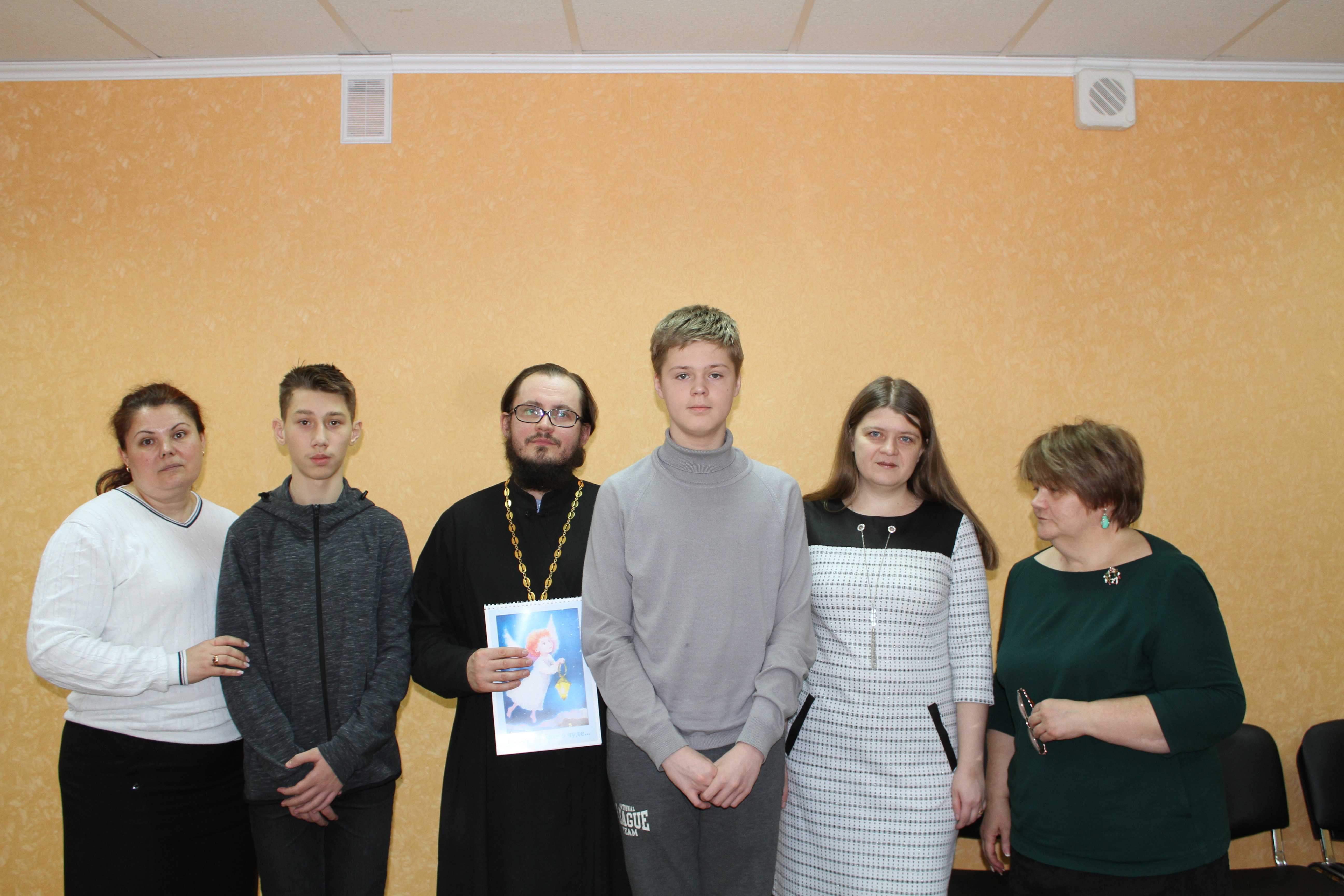 Встреча с иереем Сергием Гришановым