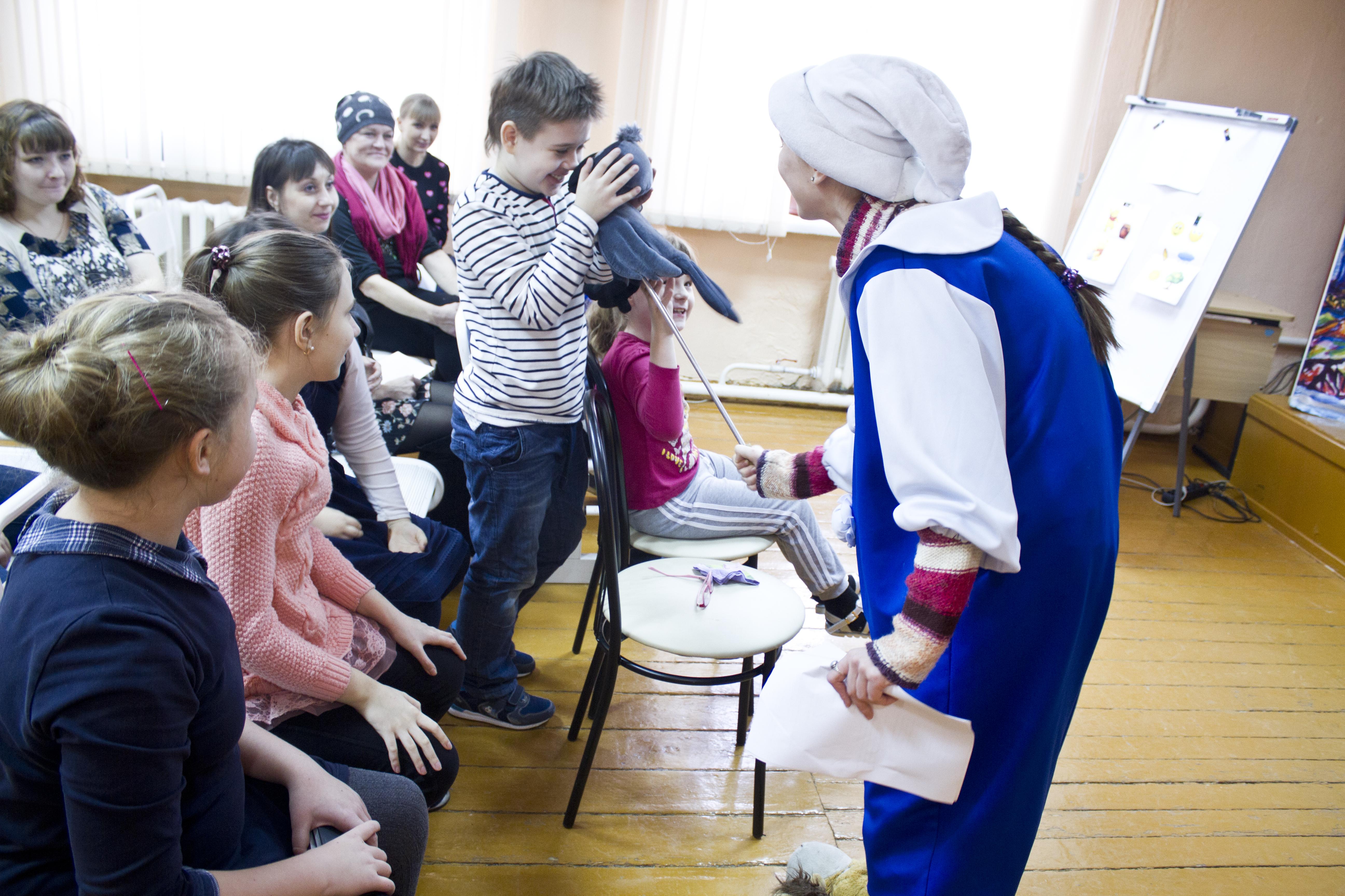 Воронежский детский театр в гостях у ЦДО