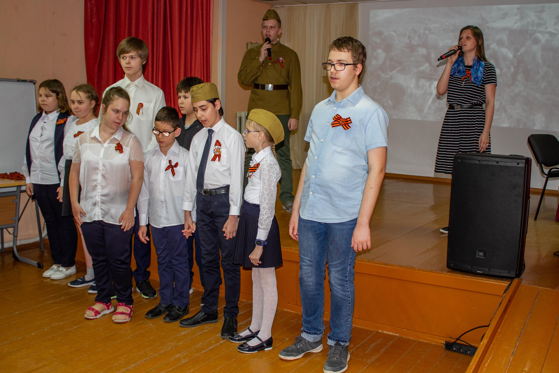 Концерт, посвящённый 74-летней годовщине Великой Победы