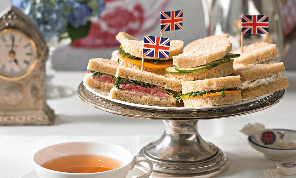 «Five — o'clock Tea» чаепитие в Великобритании